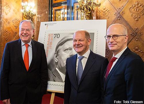 Feierlichkeiten zum 100. Geburtstag von Helmut Schmidt