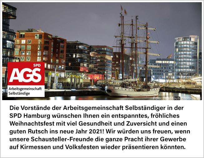 AGS Hamburg wünscht ein erfolgreiches neues Jahr 2021