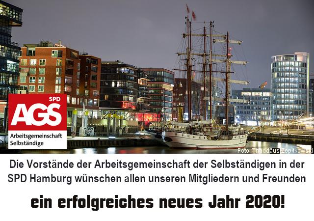 AGS Hamburg Neujahrsgruss 2020