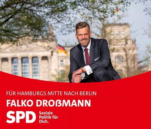 Falko Drossmann ist Bundestagskandidat der SPD